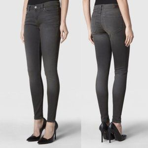 All Saints Kenna Ashby Grey Skinny Jeans Size 26